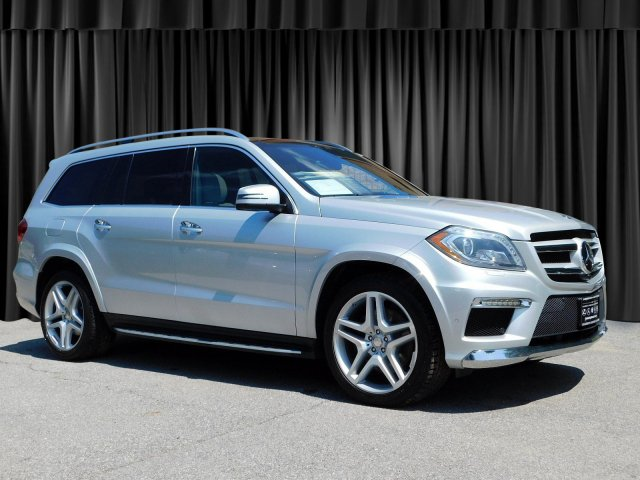 Certified Pre-Owned 2014 Mercedes-Benz GL-Class GL 550