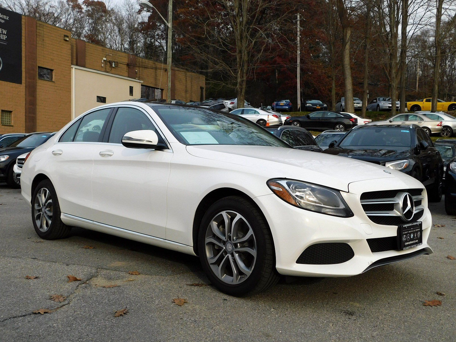 Certified Pre Owned 2016 Mercedes Benz C Class C 300 SEDAN in