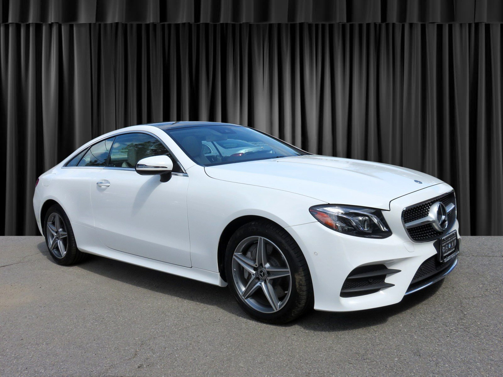 Pre Owned 2018 Mercedes Benz E Class E 400 Sport COUPE in Goldens