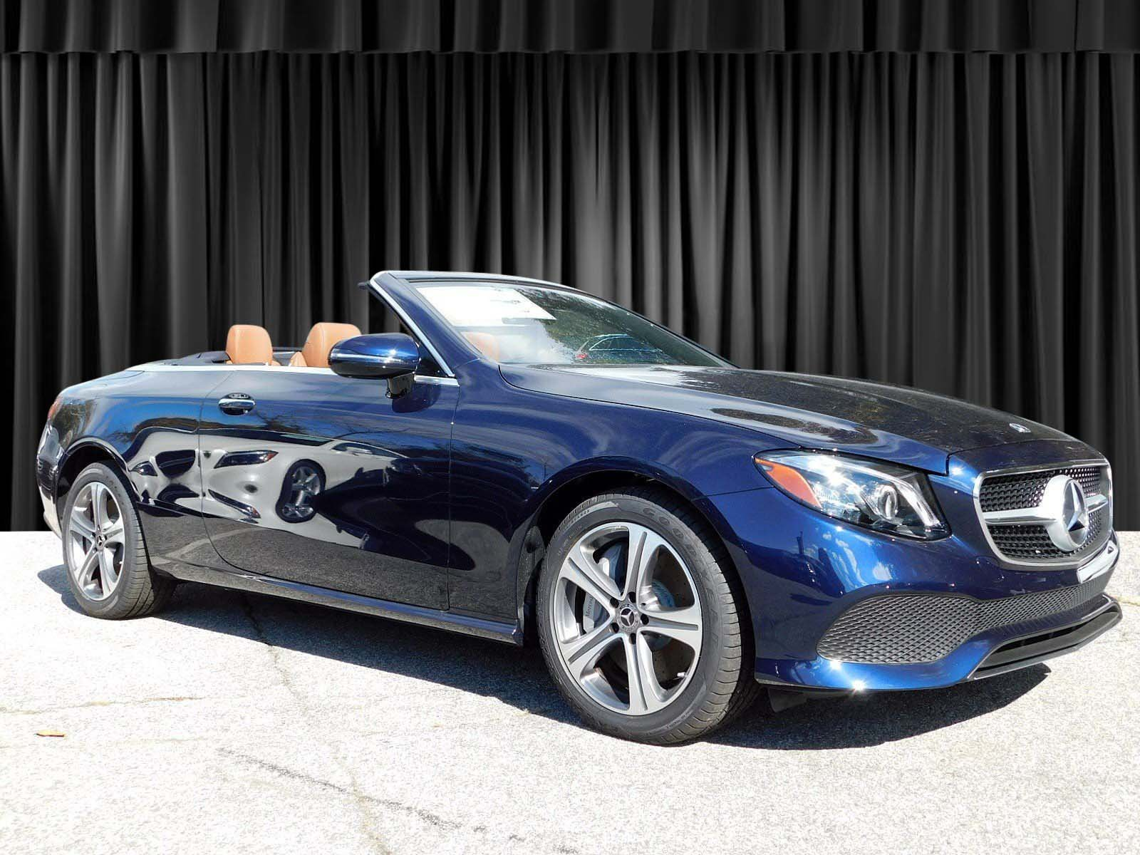 New 2019 Mercedes Benz E Class E 450 CABRIOLET in Goldens Bridge