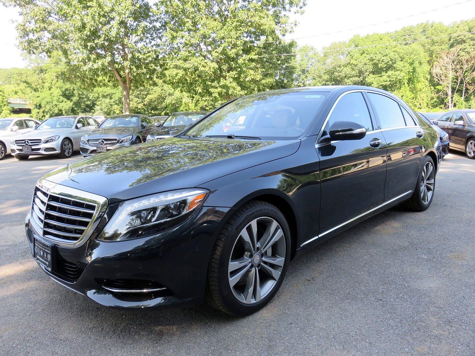 Pre Owned 2017 Mercedes Benz S Class S 550 SEDAN in Goldens Bridge