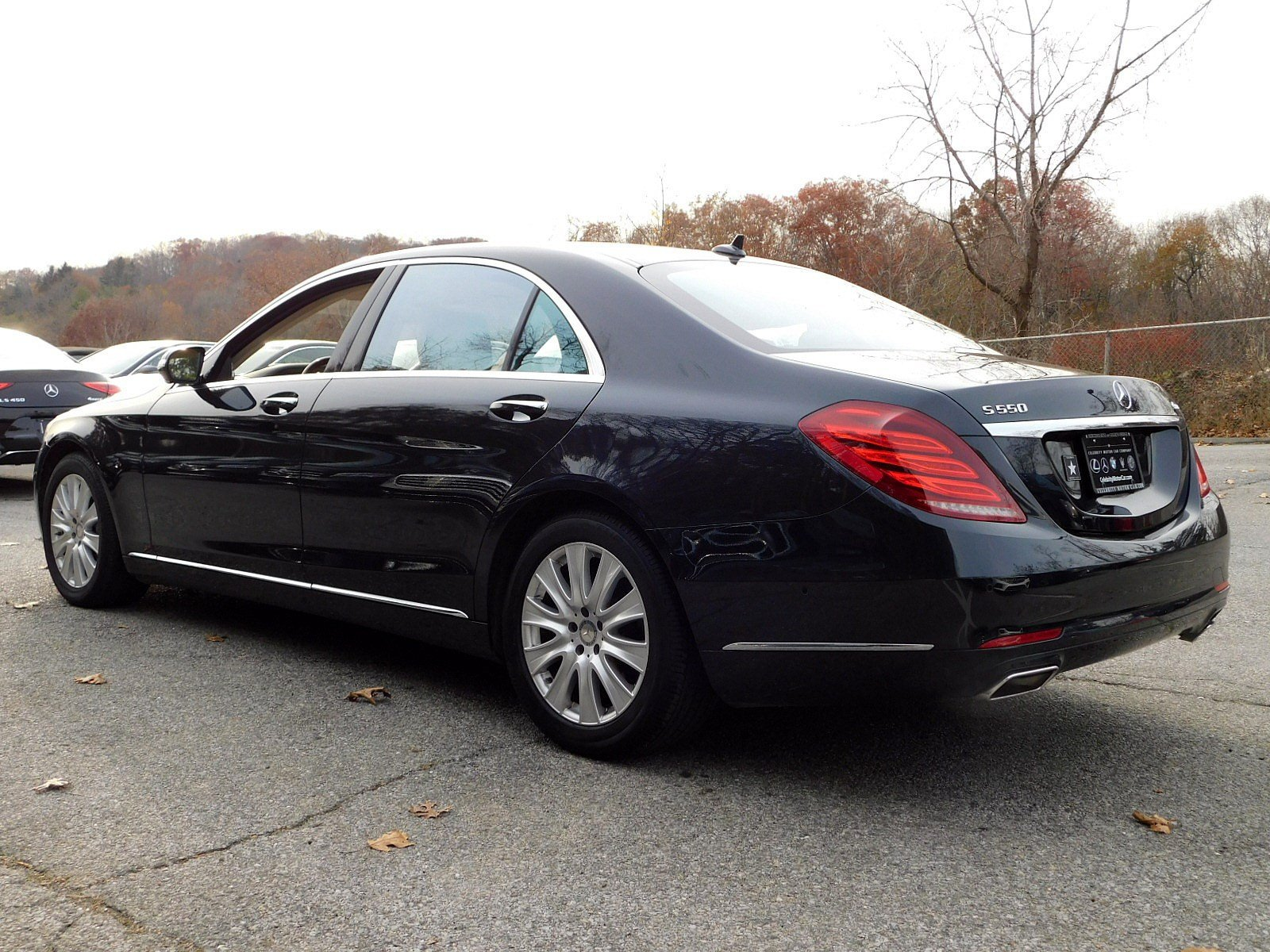 Pre Owned 2015 Mercedes Benz S Class S 550 SEDAN in Goldens Bridge