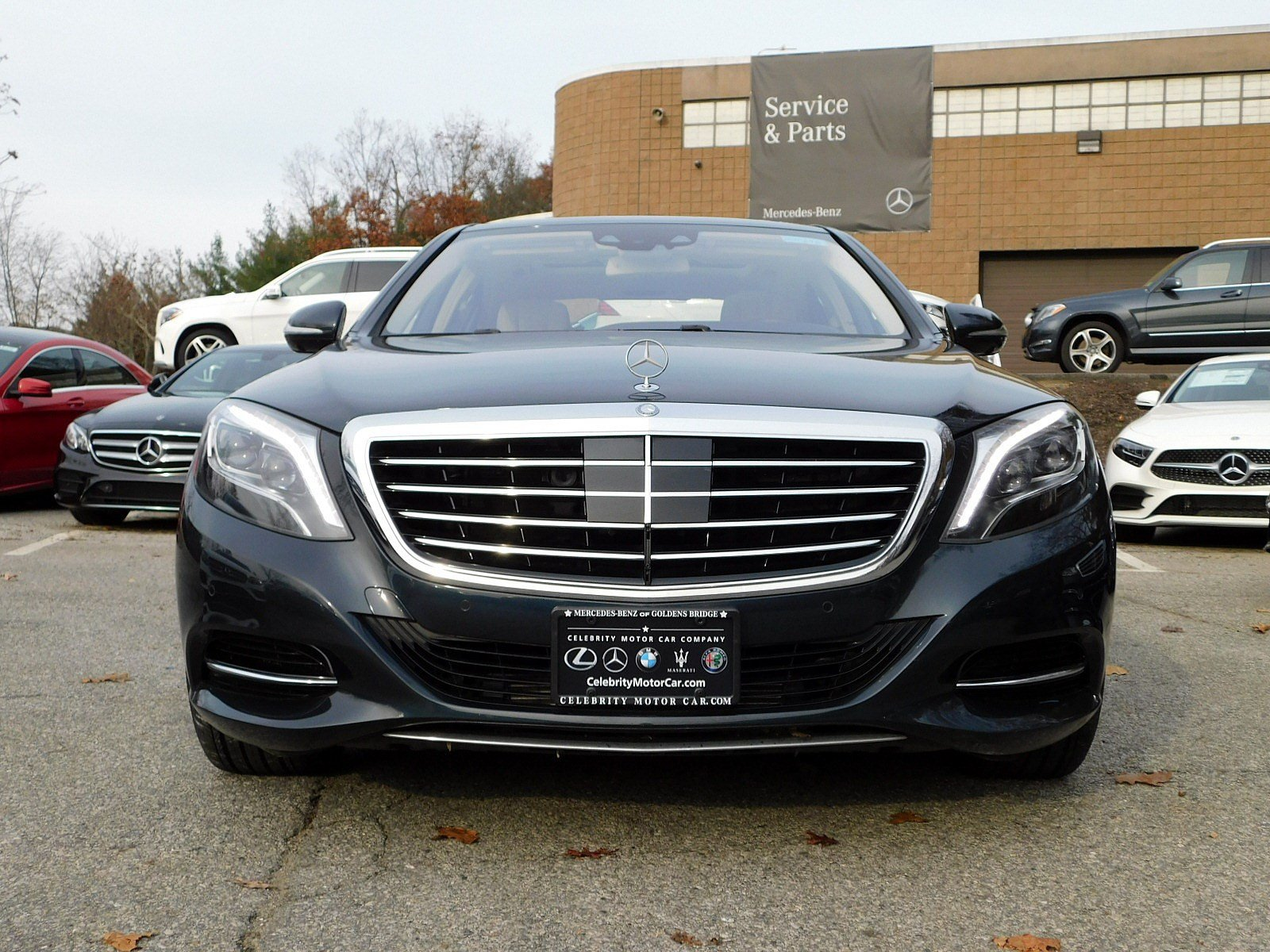 New 2015 Mercedes Benz S Class S 550 SEDAN in Goldens Bridge MBP696