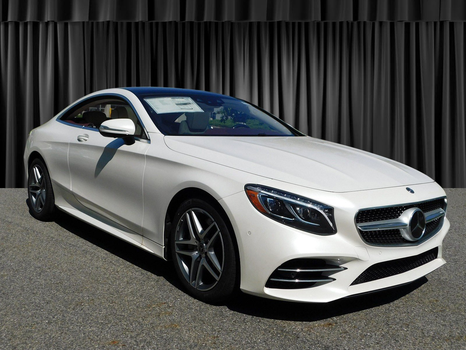 New 2018 Mercedes Benz S Class S 560 COUPE in Goldens Bridge HG511