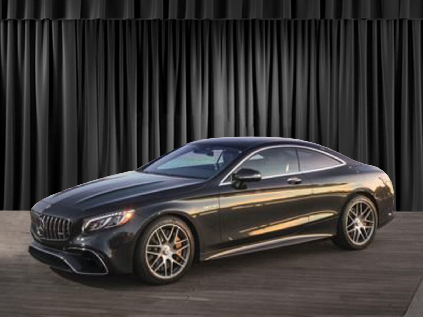 New 2018 Mercedes Benz S Class AMG S 63 Coupe Coupe in Goldens